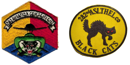 black cat patches