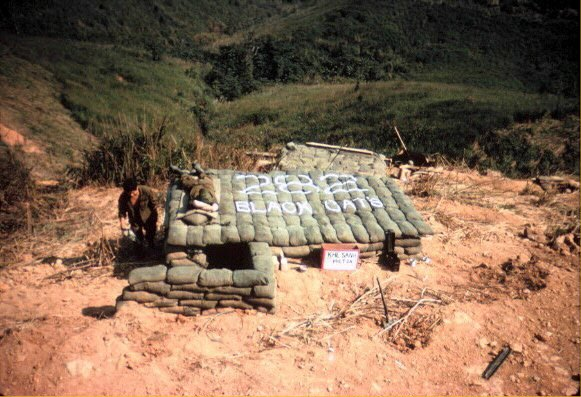 Black cat bunker at Khe Sanh